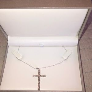 Jewelry - Sterling Silver Cross necklace